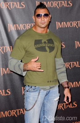 Batista images PREMIERE OF 'IMMORTALS' - NOVEMBER 7TH 2011 wallpaper and background photos