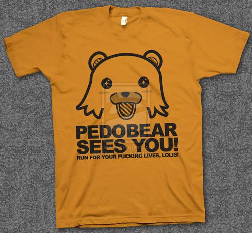 Pedobear hemd, shirt