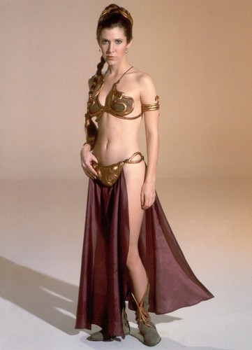 Princess Leia slave - women-of-star-wars Photo