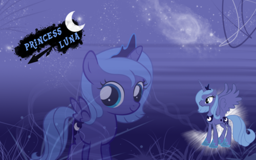 Princess Luna 壁紙