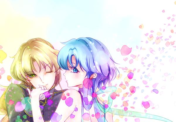 Princess Mercury and Zoisite