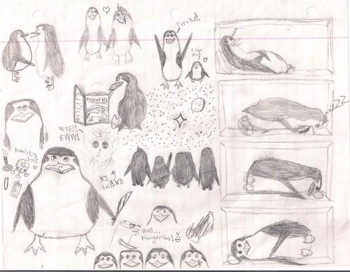 walang tiyak na layunin Sketches!