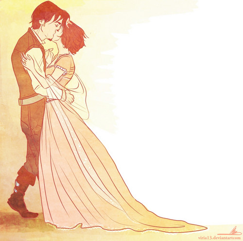 Rapunzel & Eugene's Wedding