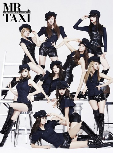 SNSD(Mr. Taxi)jacket cover