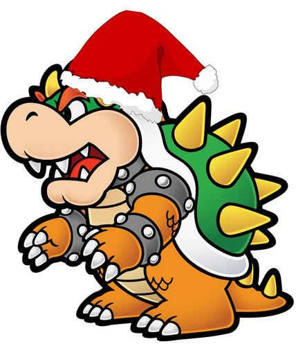 Santa Bowser