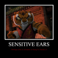 Sensitive Ears!