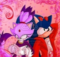 Sonic gives a love note to blaze