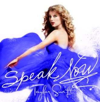 Taylor Swift wallpaper possibly containing a portrait entitled Speak Now (blue)