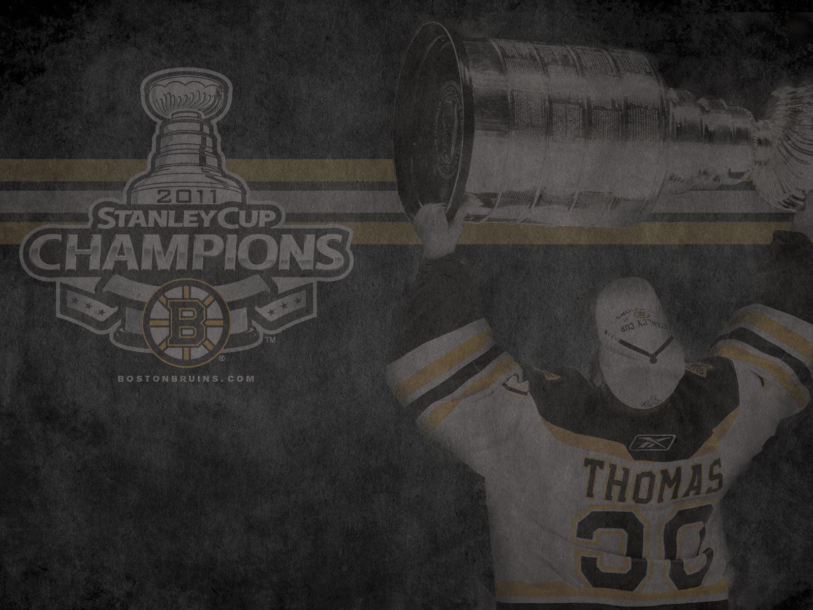 Stanley Cup Champions: Tim Thomas