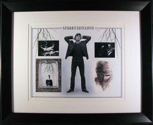 Stu's artwork Framed