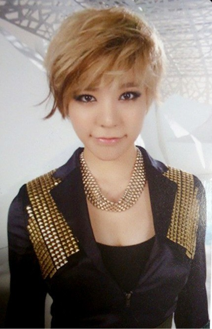 Short Hair Snsd Snsd Sunny With Short Hair
