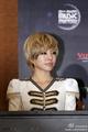 Sunny with short hair