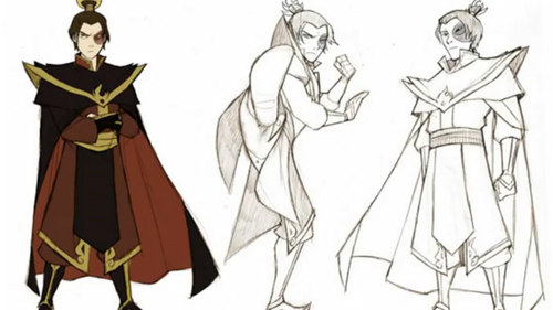Avatar The Last Airbender karatasi la kupamba ukuta probably with anime titled The Promise - Character Concept Art