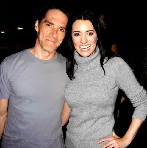 Hotch & Emily 壁纸 titled Thomas & Gibson