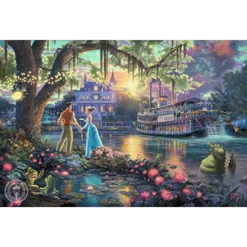 Thomas Kinkade Naveen and Tiana