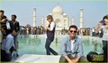 Tom Cruise of the iconic Taj Mahal (December 3) in Agra, India.