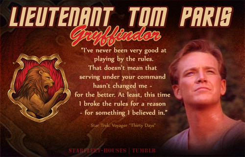 Tom Paris - Gryffindor