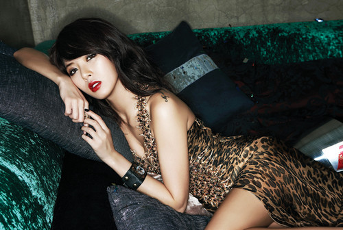 Kpop wallpaper possibly containing a living room and a playsuit called Trouble Maker