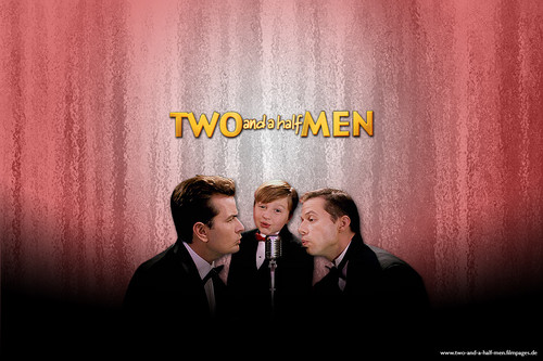 Two and a half Men वॉलपेपर