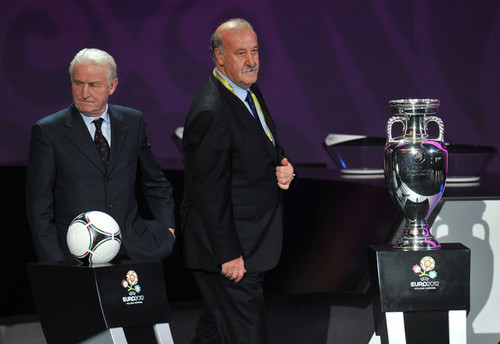 UEFA Euro 2012 wallpaper with a business suit and a suit called UEFA EURO 2012 Final Draw Ceremony