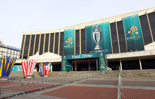 UEFA Euro 2012 wallpaper containing a multiplex and a diner called UEFA EURO 2012 Final Draw Ceremony