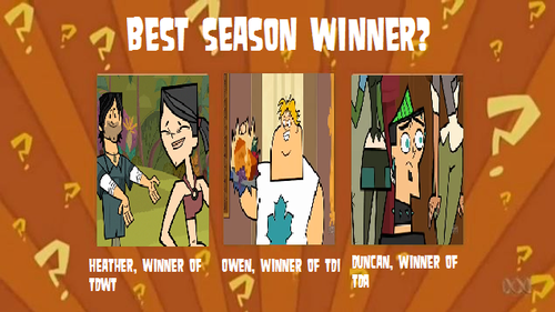 Total Drama Island Hintergrund possibly with a straße and Anime entitled WYGRF- Season Winners (American Version)