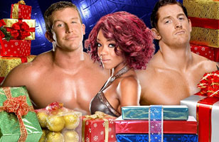 Wade Barrett,Alicia Fox,Ted Dibiase