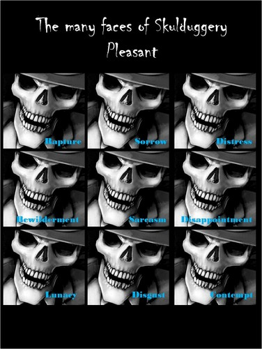 Skulduggery Pleasant fond d'écran entitled Well...:D