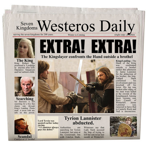Westeros Daily