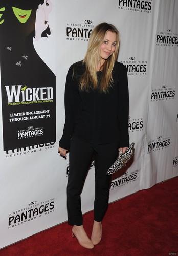 Wicked Opening Night