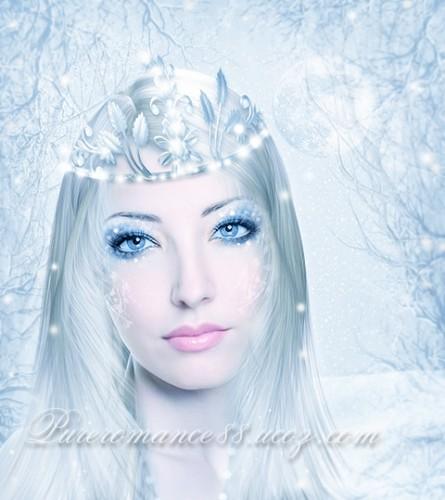Winter girl fantaisie