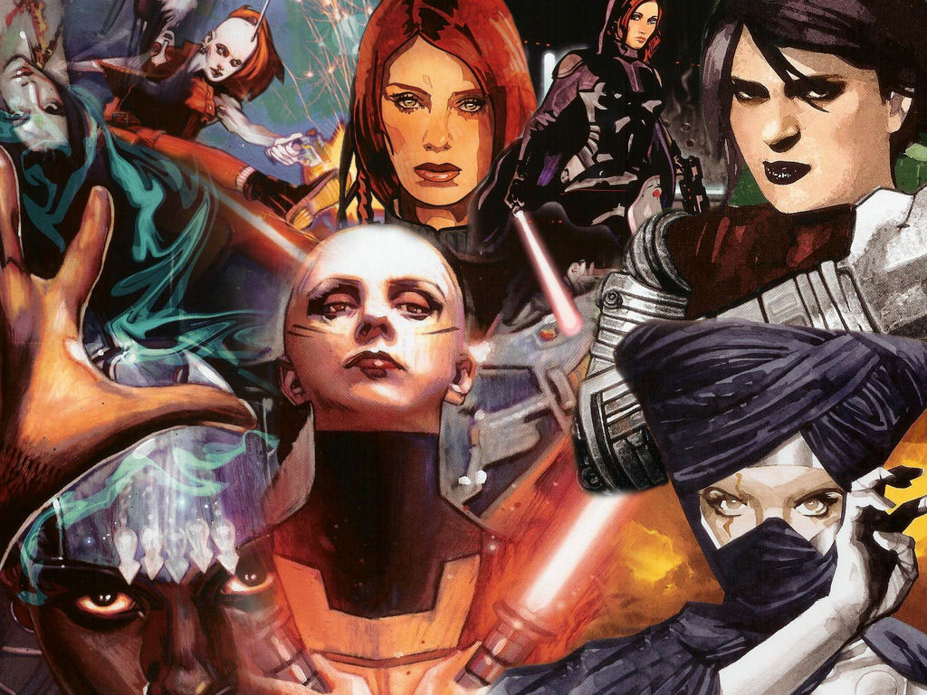 Women of Star Wars images Women of star wars HD wallpaper and background photos