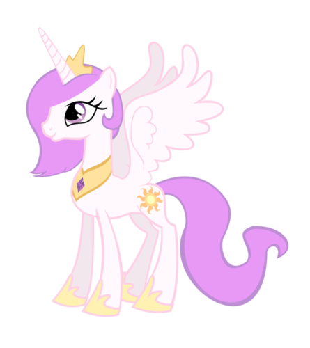 Young Princess Celestia
