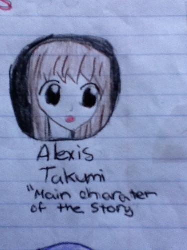 alexis takumi main charater