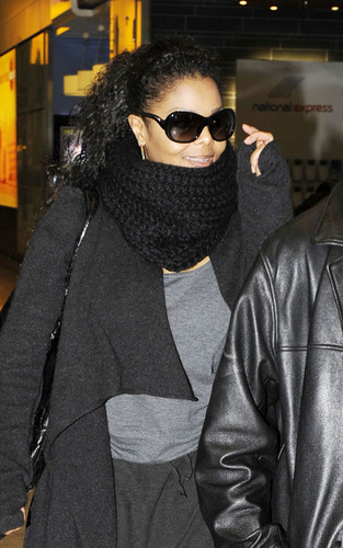 arriving at the Heathrow airport.
