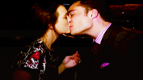 blair and chuck < 3