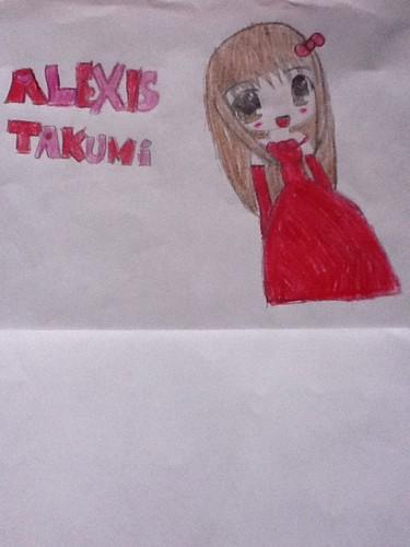 cute alexis takumi