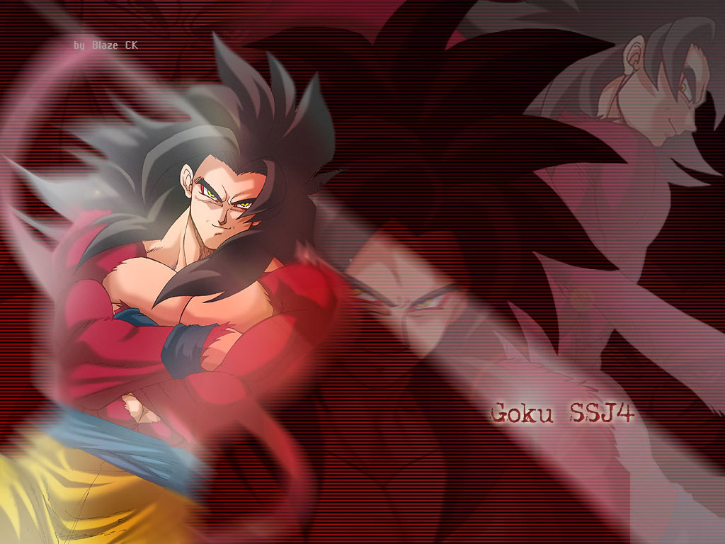 Goku SSJ4 | Imagenes de dragon ball z
