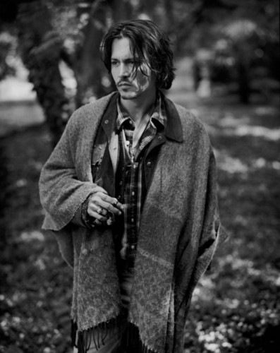 Johnny Depp wallpaper probably containing an outerwear, a box coat, and an overgarment entitled johnny <3<3