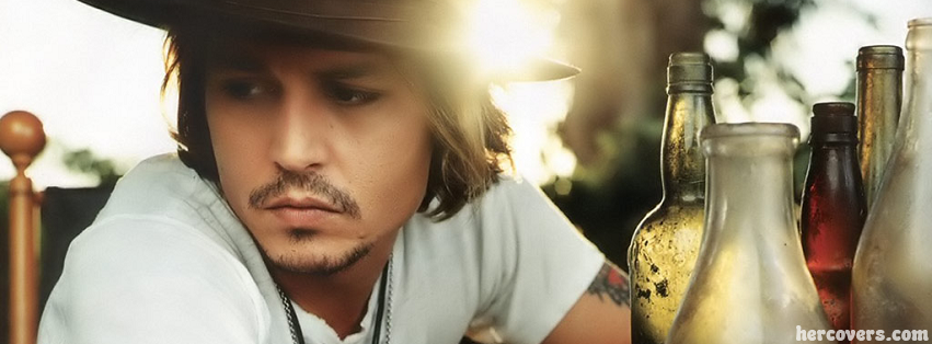 johnny depp facebook cover for the new timeline layout