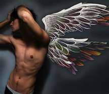 angeli wallpaper titled male Angel