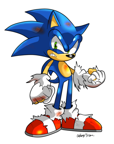 Sonic The Hedgehog Scorched
