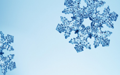 Christmas wallpaper entitled snowflakesandfrost2
