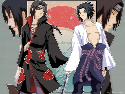 uchiha brothers - anime-siblings Photo