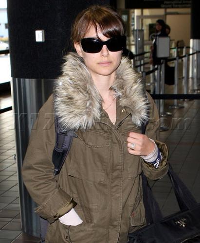 Departing LA at LAX airport (December 4th 2011)