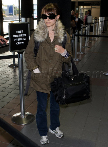 Departing LA at LAX airport (December 4th 2011)