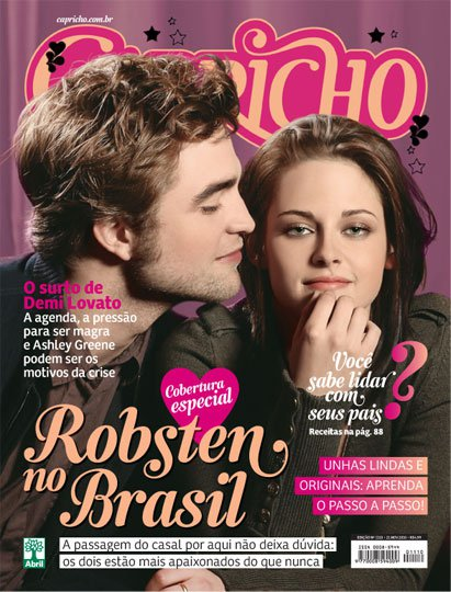 Kristen and Robert ( Magazine- Capricho- BR )