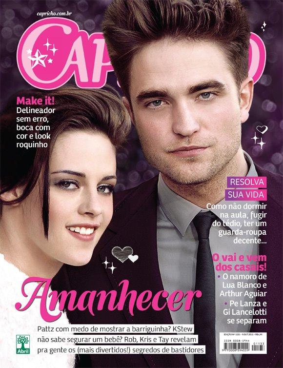 Kristen and Robert ( Magazine- Capricho- BR )