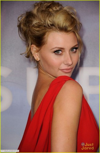 Alyson Michalka wallpaper with a portrait titled [November 22] Super 8 Dvd Release Party