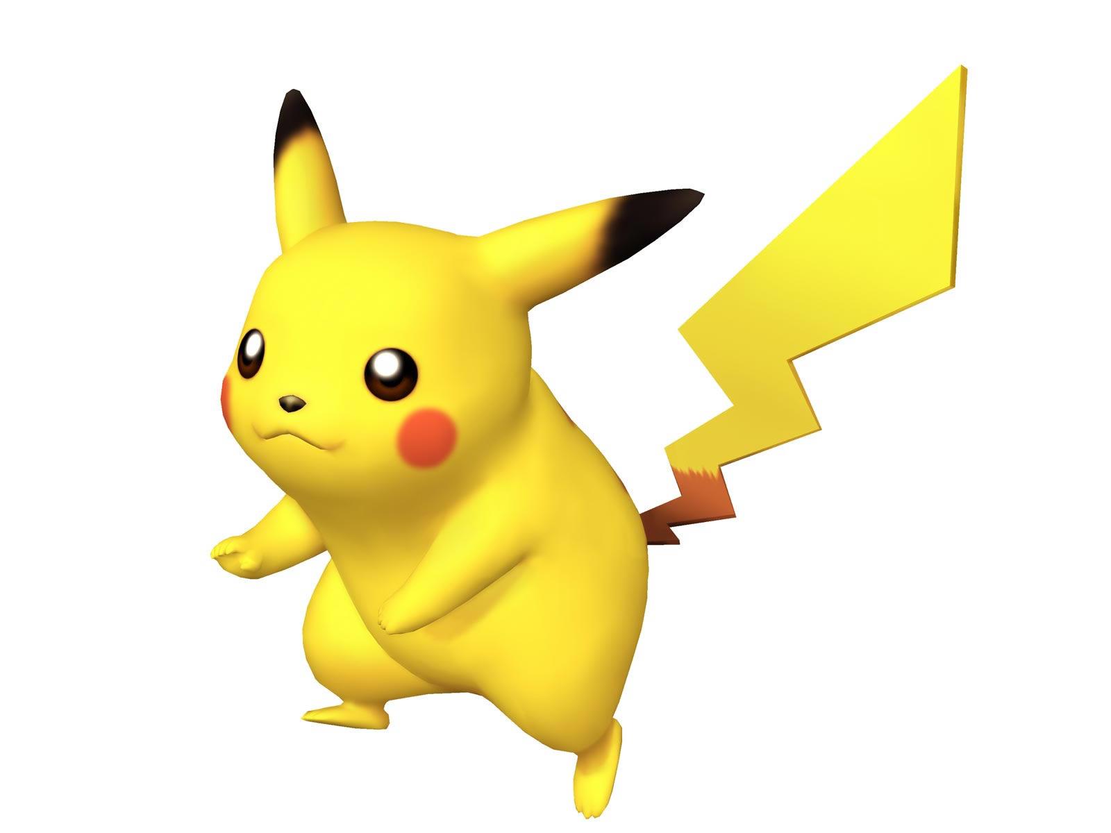 3D Pikachu